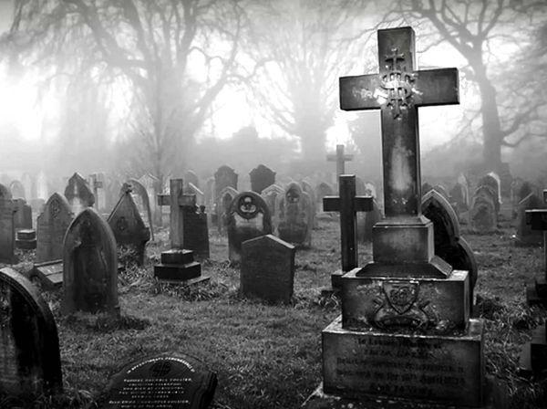 el reto del cementerio