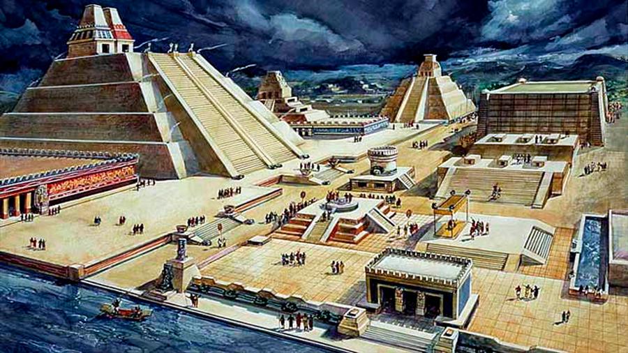 la fundacion de tenochtitlan