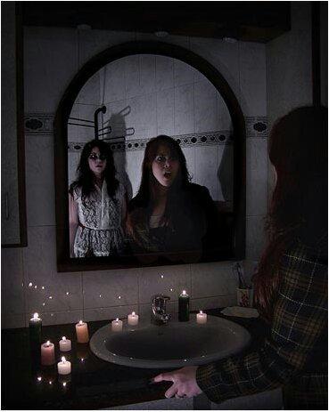 veronica en el espejo