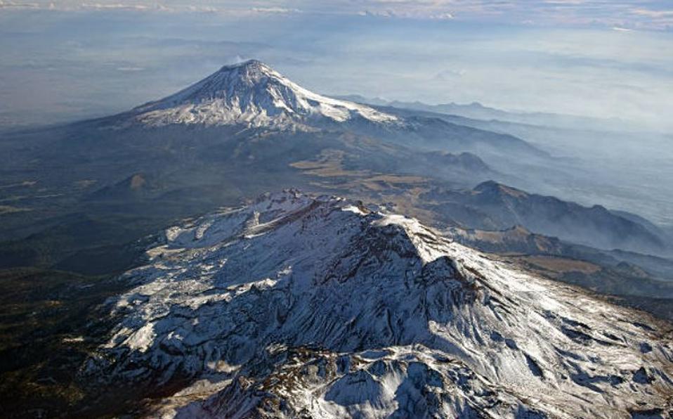 volcanes popocatepetl e iztaccihuatl