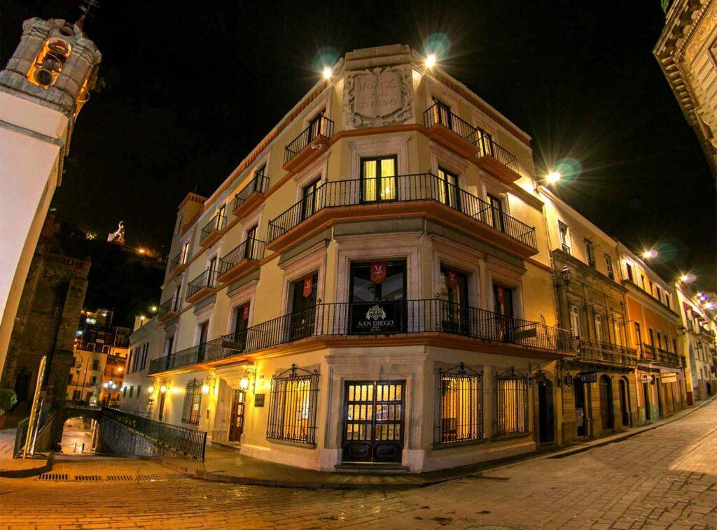 hotel san diego de guanajuato leyenda