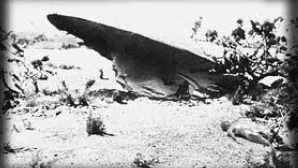el caso roswell del platillo volador