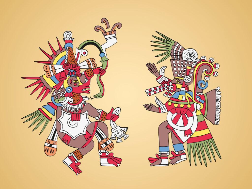 la creacion del mundo azteca