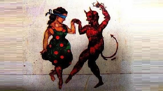 el diablo en el antro leyenda