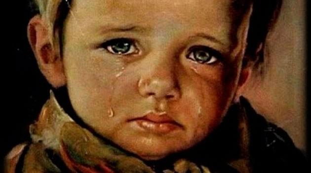 el niño lloron