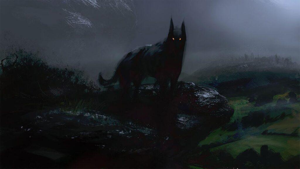 el perro prieto leyendas