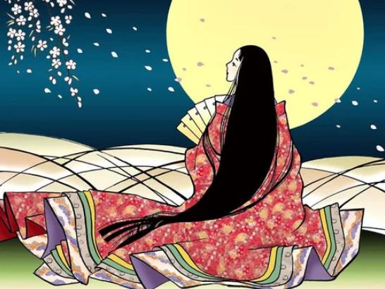 la diosa de la luna en japon