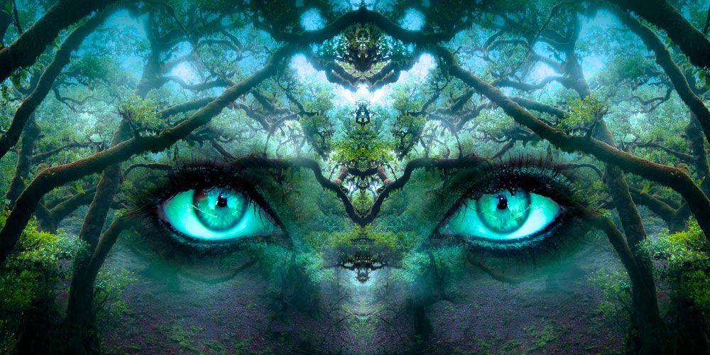 leyenda de los ojos verdes