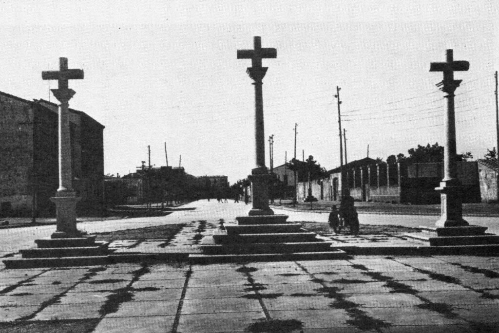 la calle de las tres cruces