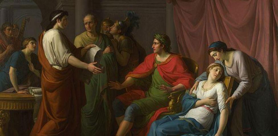octavio y cleopatra