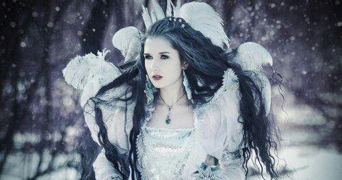 leyenda de la dama de las nieves
