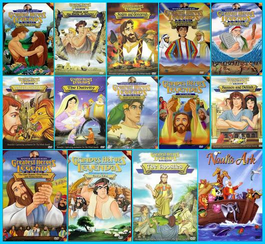 capitulos de grandes heroes y leyendas de la biblia