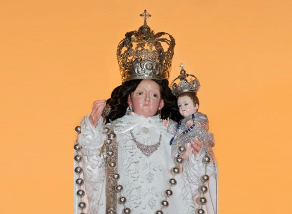 leyenda de la virgen del rosario