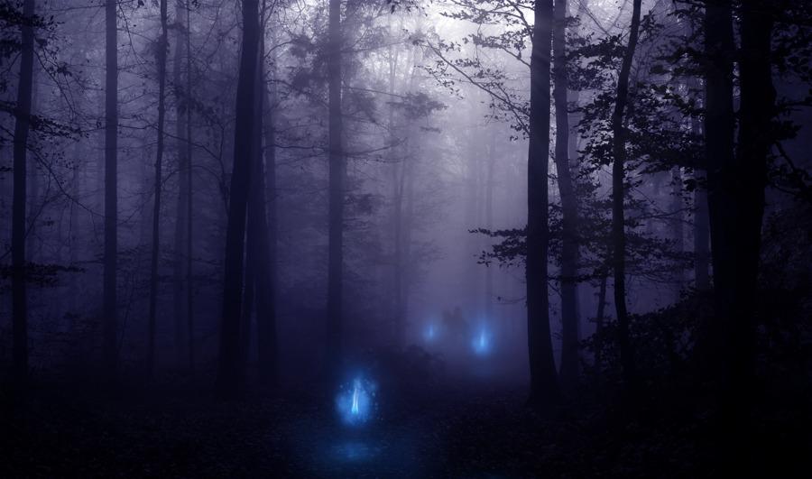 leyenda de las luces malas