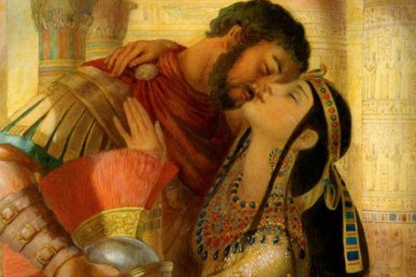 leyenda de marco antonio y cleopatra