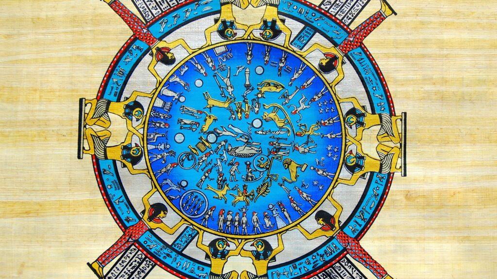 leyenda del calendario egipcio